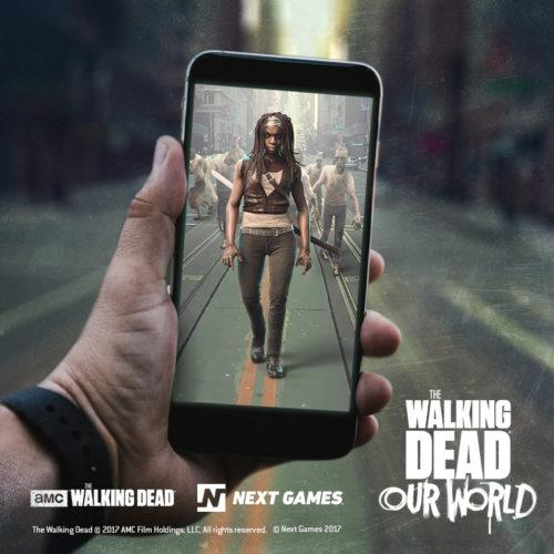 """AR-""""The Walking Dead""""-Spiel"""