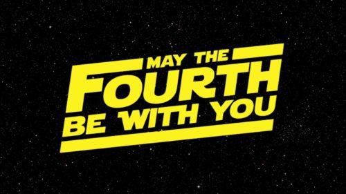 Am 4.Mai sind wir bei Ihnen #StarWarsDay