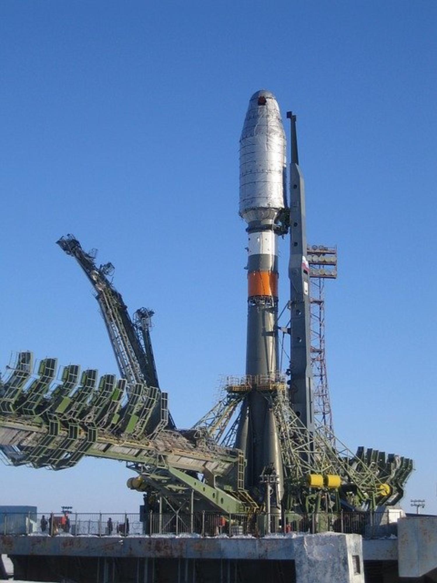 Weltraumbahnhof in der Nordsee