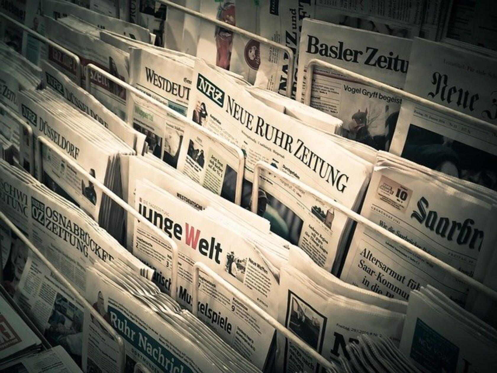 Pressefreiheit und Börsengang